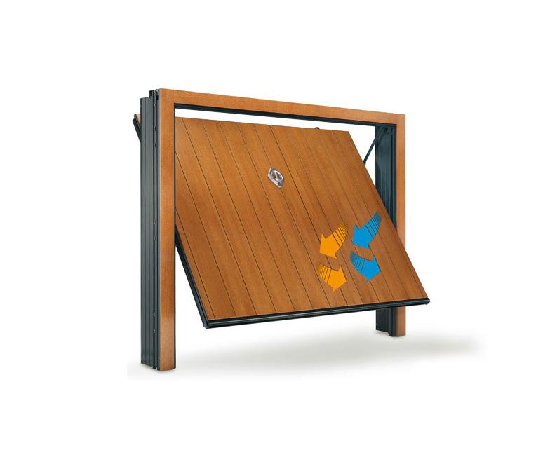 Porte basculanti box per garage varese busto arsizio - Spessore porta ...